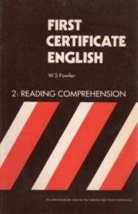 First Certificate English: Reading Comprehension Bk. 2