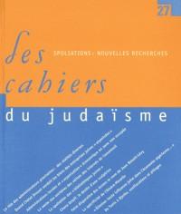 Les Cahiers du judaïsme, n°27 - Recherches nouvelles sur les spoliations