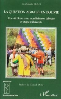 Question agraire en bolivie