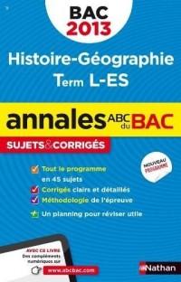 Annales bac 2013 histoire/geographie l es corriges n11