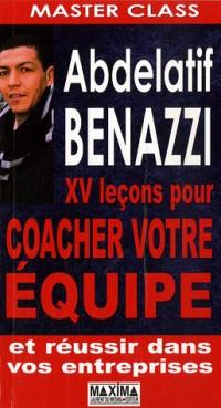 XV Leçons pour coacher votre équipe