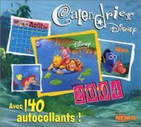 Calendrier 2004 : Disney