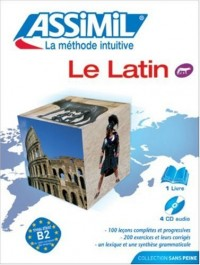 Le Latin ; Livre + CD Audio (x4)