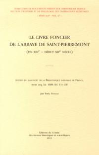 Le livre foncier de l'abbaye de Saint-Pierremont (fin XIIIe - début XIVe siècle)