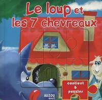 LE LOUP ET LES 7 CHEVREAUX  (Livres puzzle)