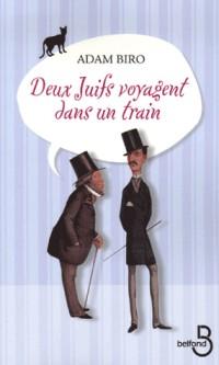 Deux juifs voyagent dans un train