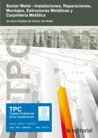 Tpc sector metal - carpintería metálica