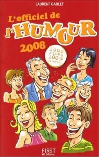 L'officiel de l'humour 2008