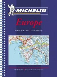 Atlas routiers : Europe (petit format spirale)