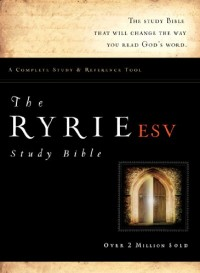The Ryrie Study Bible: English Standard Version, Burgundy, Bonded Leather, Red Letter
