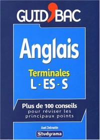 Anglais terminales L, ES, S