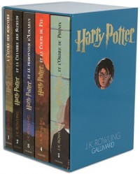 Harry Potter, coffret 5 volumes : Tome 1 à tome 5