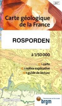 Rosporden Carte géologique de la France : 1/50 000