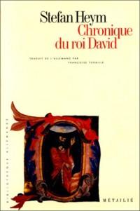 Chronique du roi David