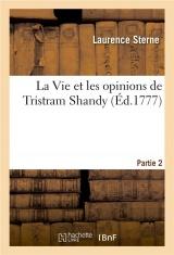 La Vie et les opinions de Tristram Shandy. Partie 2