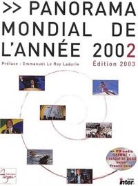 Panorama mondial de l'année 2002 (1CD audio)