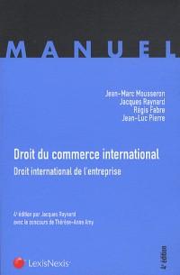Droit du commerce international (ancienne édition)