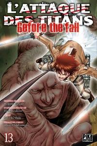 L'Attaque des Titans - Before the Fall T13