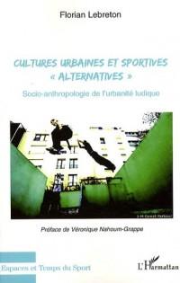 Cultures urbaines et sportives : Socio-anthropologie de l'urbanité ludique