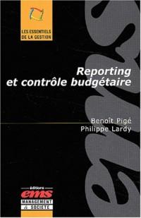Reporting et contrôle budgétaire