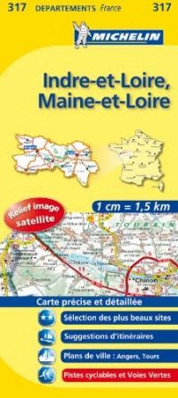 Carte Routiere Indre-et-Loire/Maine-et-Loire