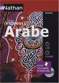 Arabe : 1 livre, 2 CD audio et 1 livret d'écriture