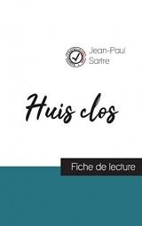 Huis clos de Jean-Paul Sartre (fiche de lecture et analyse complète de l'oeuvre)