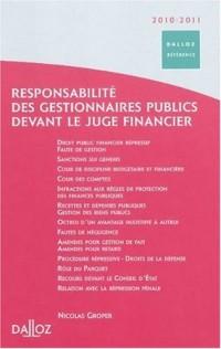 Responsabilité des gestionnaires publics devant le juge financier
