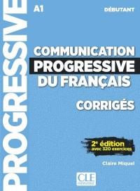 Communication progressive du français - Niveau débutant - Corrigés - 2ème édition - Nouvelle couverture