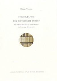 Bibliographie des Editions de Minuit : Du