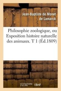 Philosophie Zoologique  T 1  ed 1809