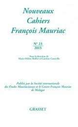 Nouveaux cahiers François Mauriac nº23