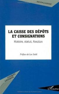 La caisse des dépôts et consignations : histoire, statut, fonction