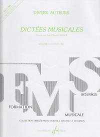 Dictées Musicales Volume 1 - Eleve - Livre + CD