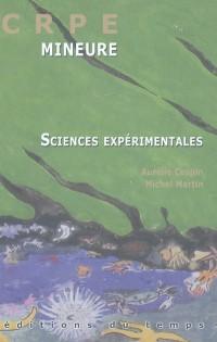 CRPE L'épreuve mineure de sciences expérimentales