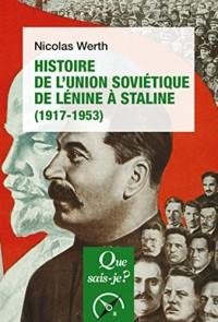 Histoire de l'Union Soviétique (Ed5)-Qsj 2963