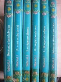 magali - lot 6 titres (rencontre dans la brume - un mari tombé du ciel - la crique aux bleuets - un couple dans le vent - le bouquet d'iris bleus - sa femme est une meurtriere)