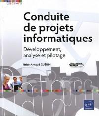 Conduite de projets informatiques - Développement, analyse et pilotage