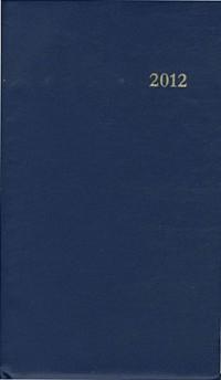 Agenda du Chretien 2012-Bleu