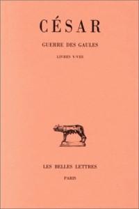Guerre des Gaules, tome 2 : livres V-VIII