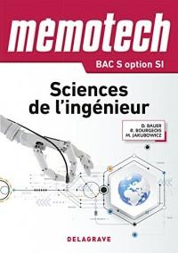 Memotech sciences de l'ingénieur 1ere Tle bac S CPGE