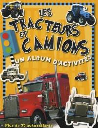 Les tracteurs et camions : Un album d'activités, plus de 70 autocollants