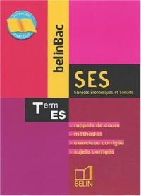 BelinBac : Sciences Économiques et Sociales - SES, terminale, Bac ES