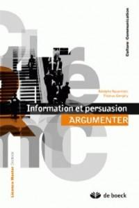 Argumenter : Information et persuasion
