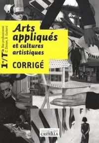 Arts appliqués et cultures artistiques 1e et Tle Bac pro : Corrigé