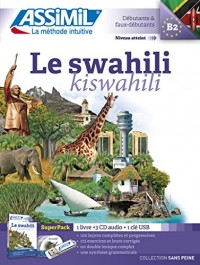 Superpack Usb Swahili (livre+4CD audio+1clé USB)