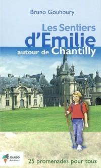 Les sentiers d'Emilie autour de Chantilly