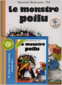 Le monstre poilu (1CD audio)