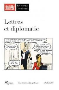Riveneuve Continents 23 - Lettres et diplomatie