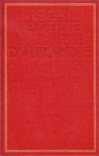 La Jeunesse d'Alexandre, tome 1